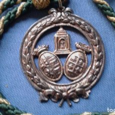 Antigüedades: SEMANA SANTA DE SEVILLA - MEDALLA CON CORDON DE LA HERMANDAD DE LA PIA UNION. Lote 140293050