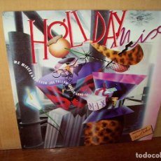 Discos de vinilo: HOLIDAY MIX - ANOTHER MIX BY RAUL ORELLANA - MAXI SINGLE. Lote 140296330