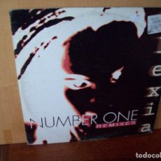 Discos de vinilo: ALEXIA - NUMBER ONE - MAXI SINGLE. Lote 140296526