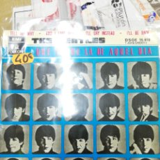Discos de vinilo: TELL ME WHY . AND I LOVE HER . THE BEATLES . EMI ODEON . 1964. Lote 140299212