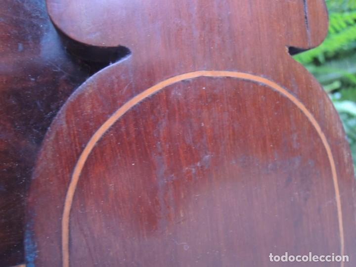 Antigüedades: CABECERA DE CAMA ANTIGUA DE MADERA MODERNISTA - Foto 6 - 140307906