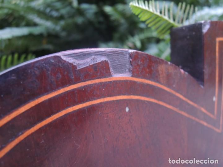 Antigüedades: CABECERA DE CAMA ANTIGUA DE MADERA MODERNISTA - Foto 13 - 140307906