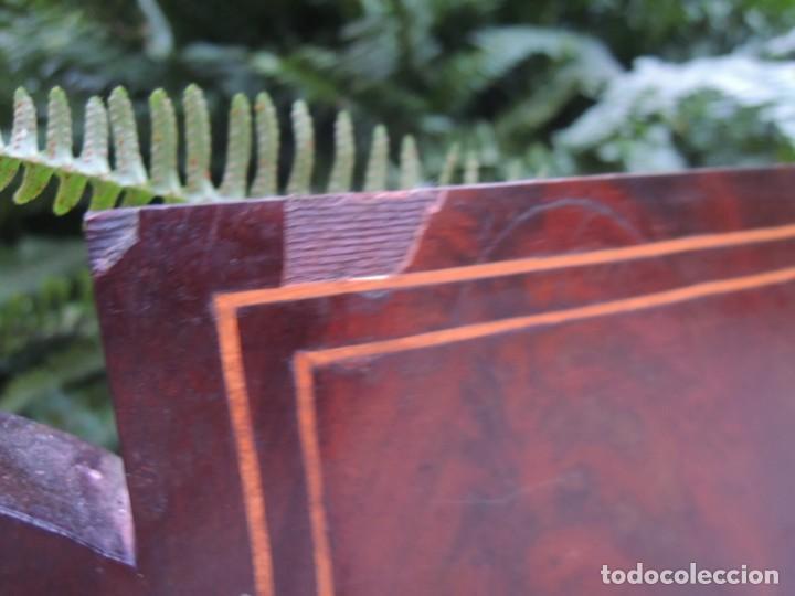 Antigüedades: CABECERA DE CAMA ANTIGUA DE MADERA MODERNISTA - Foto 14 - 140307906