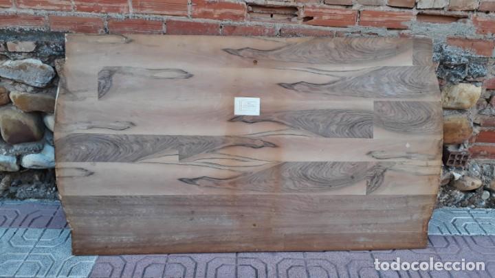 Antigüedades: Mesa antigua de salón extensible estilo Luis XVI. Mesa grande antigua de salón comedor palo rosa. - Foto 15 - 140315874