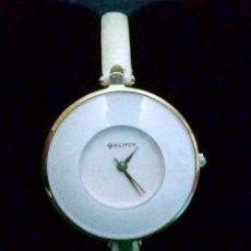 Relojes: RELOJ MUJER *BILYFER* - CORREA DE PIEL .... FUNCIONANDO Y EN MUY BUEN ESTADO.. Lote 140321422