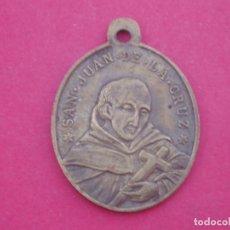Antigüedades: MEDALLA SIGLO XIX SAN JUAN DE LA CRUZ. SANTO DESIERTO DE LAS PALMAS. CASTELLÓN. AÑO 1892. Lote 140327770
