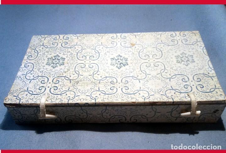 Antigüedades: ESPEJO DE PORCELANA CHINA, PLATA TIBETANA y MANGO DE JADE - 225 GRAMOS. - Foto 4 - 140339694