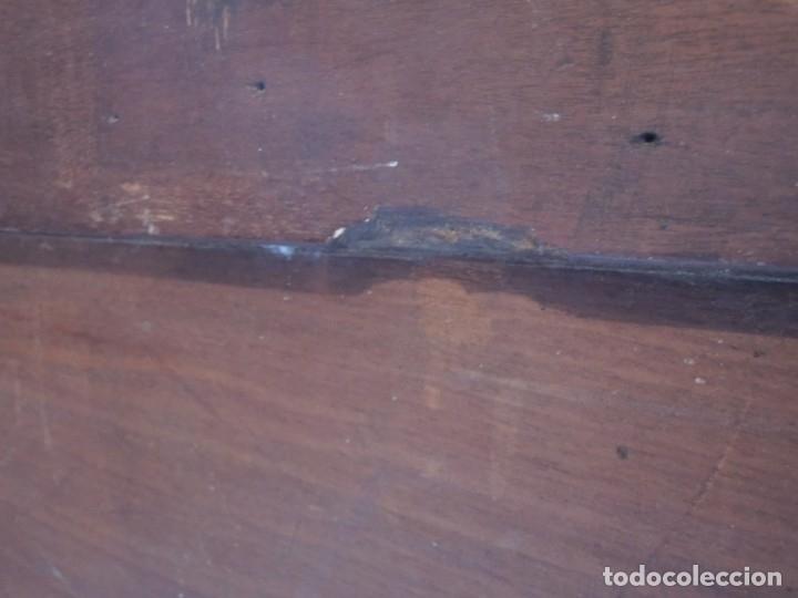 Antigüedades: CABECERA DE CAMA ANTIGUA DE MADERA MODERNISTA - Foto 23 - 140307906