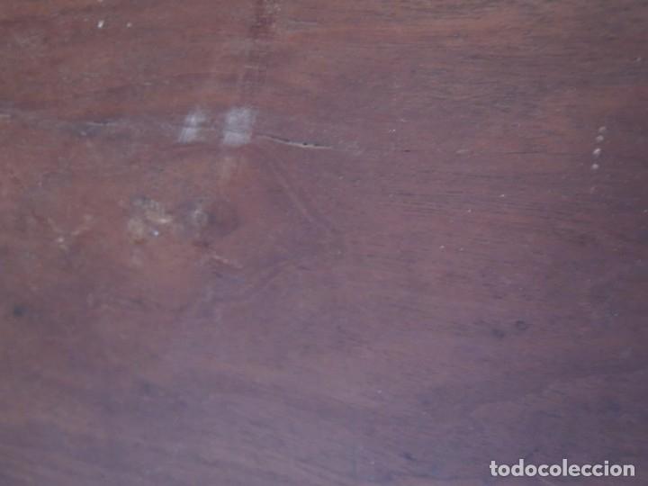 Antigüedades: CABECERA DE CAMA ANTIGUA DE MADERA MODERNISTA - Foto 24 - 140307906