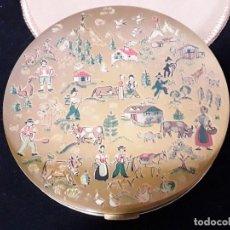 Antigüedades: PRECIOSA POLVERA DE LA FIRMA VOGUE MADE ENGLAND. Lote 259019385