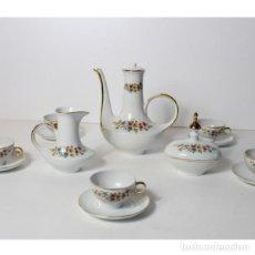 Antigüedades: JUEGO DE CAFÉ TÉ PORCELANA JAMBO. Lote 140402498
