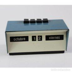 Antigüedades: CALENDARIO PERPETUO MANUAL CASA MAOR VINTAGE. Lote 140407082