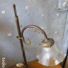 Antigüedades: ANTIGUA LAMPARA DE SOBRE MESA ART DECO.. Lote 140417454