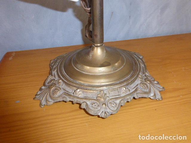 Antigüedades: ANTIGUA LAMPARA DE SOBRE MESA ART DECO. - Foto 6 - 140417454