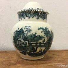 Antigüedades: TIBOR DE CERÁMICA PICKMAN SEVILLA. Lote 140423082