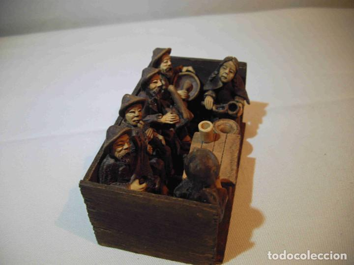 Antigüedades: TERRACOTA 6 MUSICOS MESA - Foto 2 - 140425162