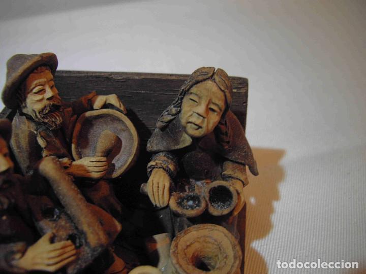 Antigüedades: TERRACOTA 6 MUSICOS MESA - Foto 3 - 140425162