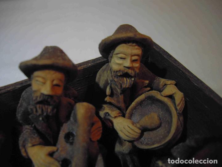 Antigüedades: TERRACOTA 6 MUSICOS MESA - Foto 4 - 140425162