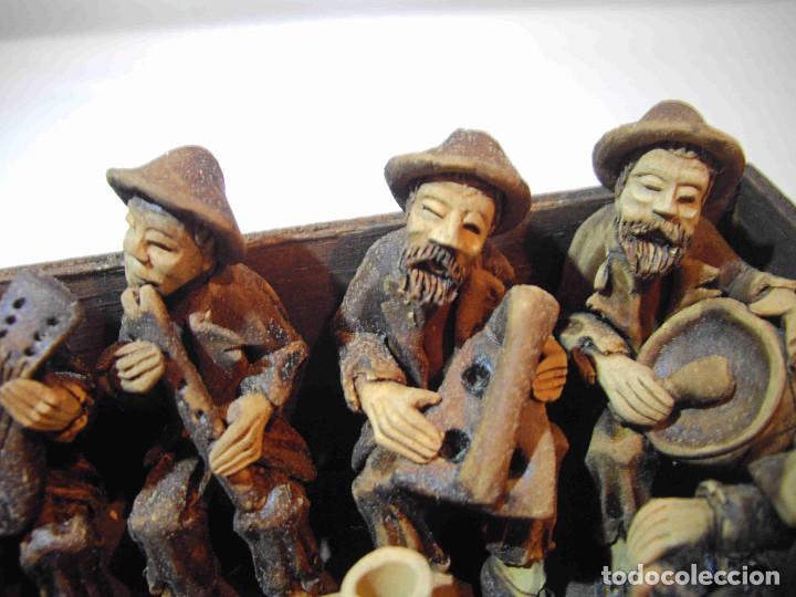 Antigüedades: TERRACOTA 6 MUSICOS MESA - Foto 5 - 140425162
