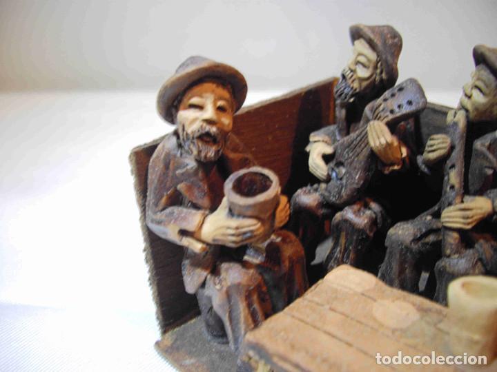Antigüedades: TERRACOTA 6 MUSICOS MESA - Foto 8 - 140425162