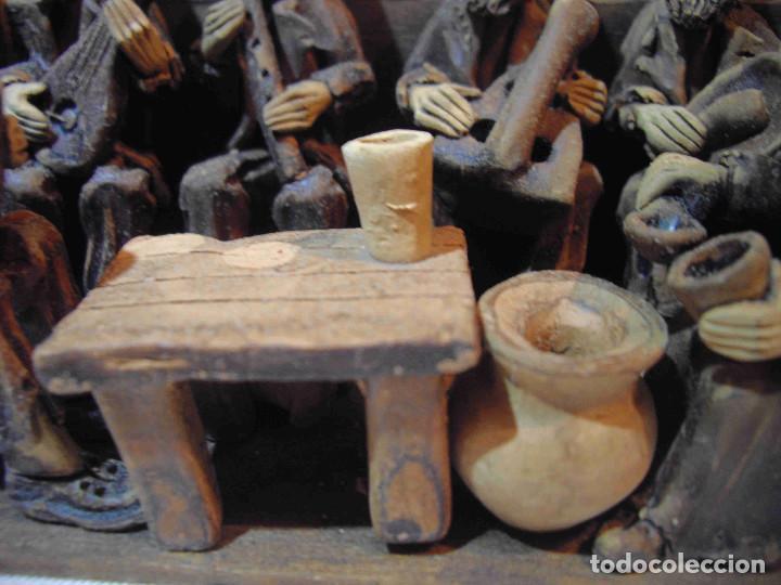 Antigüedades: TERRACOTA 6 MUSICOS MESA - Foto 9 - 140425162