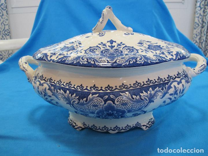 Antigüedades: Espectacular sopera holandesa - Foto 2 - 140430682