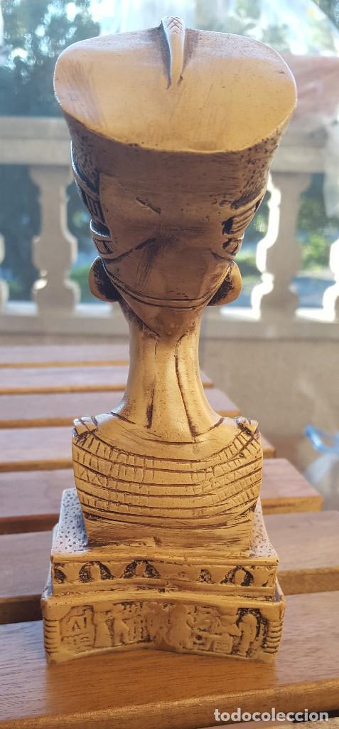Antigüedades: Busto de la reina-faraona Nefertiti (Original de Egipto) - Foto 2 - 140441078