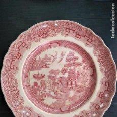 Antigüedades: SAN CLAUDIO, ANTIQUÍSIMO PLATO DE PORCELANA. Lote 140463178