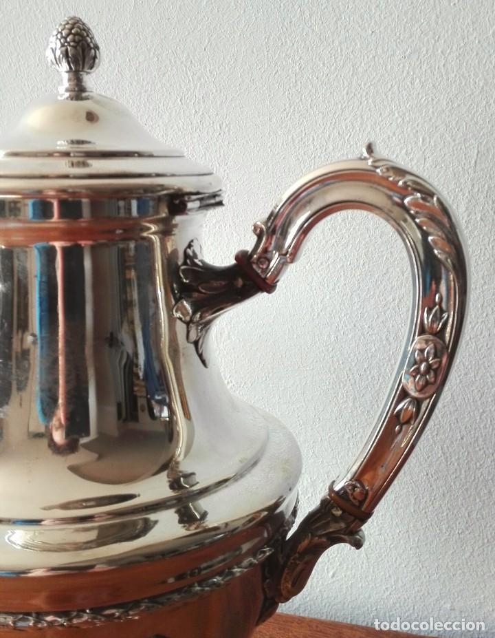 Antigüedades: Cafetera Francesa en Plata. Siglo XIX. 813 gramos. - Foto 6 - 140511554