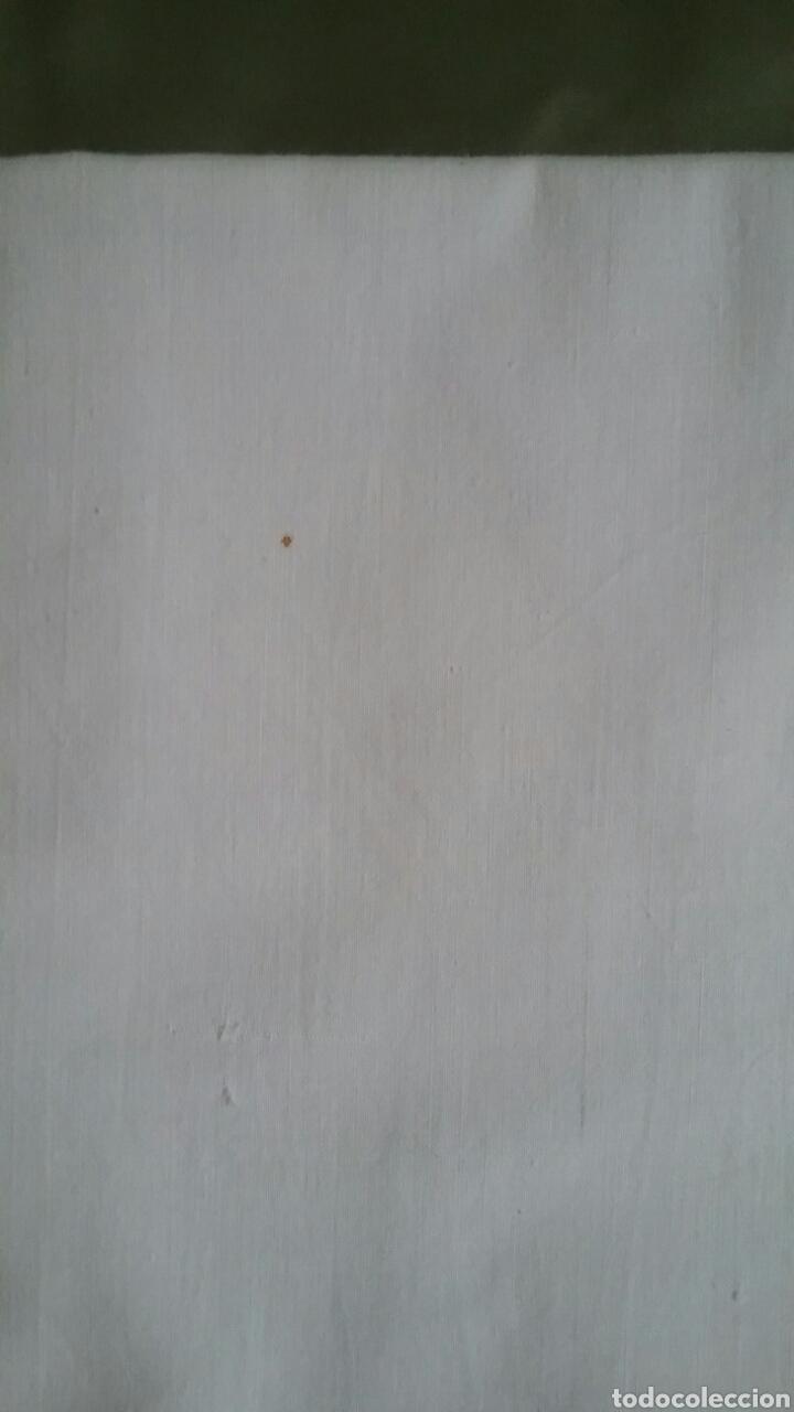Antigüedades: ANTIGUO JUEGO DE CAMA.EN.ALGODÓN.BORDADO A MANO.NUEVO.AÑOS 70 - Foto 12 - 140518536