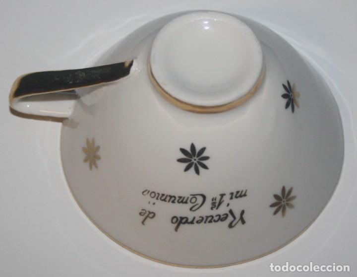 Antigüedades: Antigua taza de porcelana de 1ª Comunión - Foto 3 - 140524750