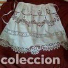 Antigüedades - Delantal indumentaria - 140525118