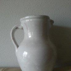 Antigüedades: CERÁMICA VASCA ,ANTIGUA JARRA-20 CM ALTURA . Lote 140542062