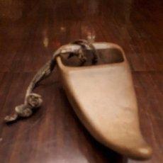Antigüedades: PIEZA ARTESANÍA RÚSTICA. MADERA.. Lote 140548418