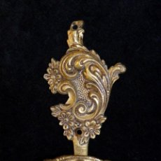 Antiquitäten - ANTIGUO ALZAPAÑOS. SUJETA CORTINAS. BRONCE.13,5x7 cm. (4) - 140554858