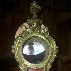 Antigüedades: CAJA RELOJ BRONCE. Lote 140563270