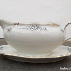 Antigüedades: SALSERA EN PORCELANA DE BAVARIA SELLADA. Lote 140588710