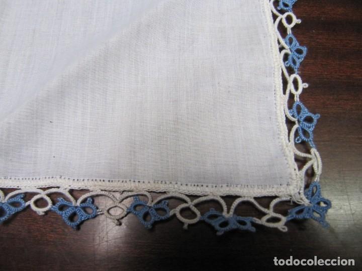 encaje antiguo bonito pañuelo con puntas de gan - Comprar Pañuelos ...