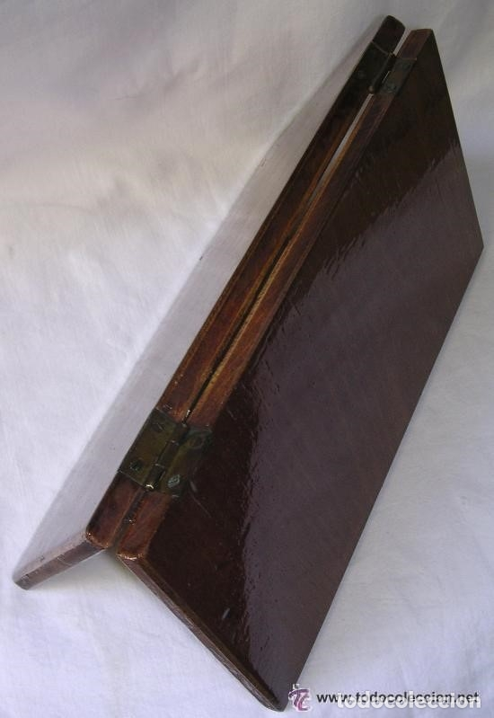 Antigüedades: TABLERO DE VIAJE PARA AJEDREZ O DAMAS - MADERAS NOBLES - MUY ANTIGUO - PRINCIPIOS SIGLO XX - Foto 16 - 173994467