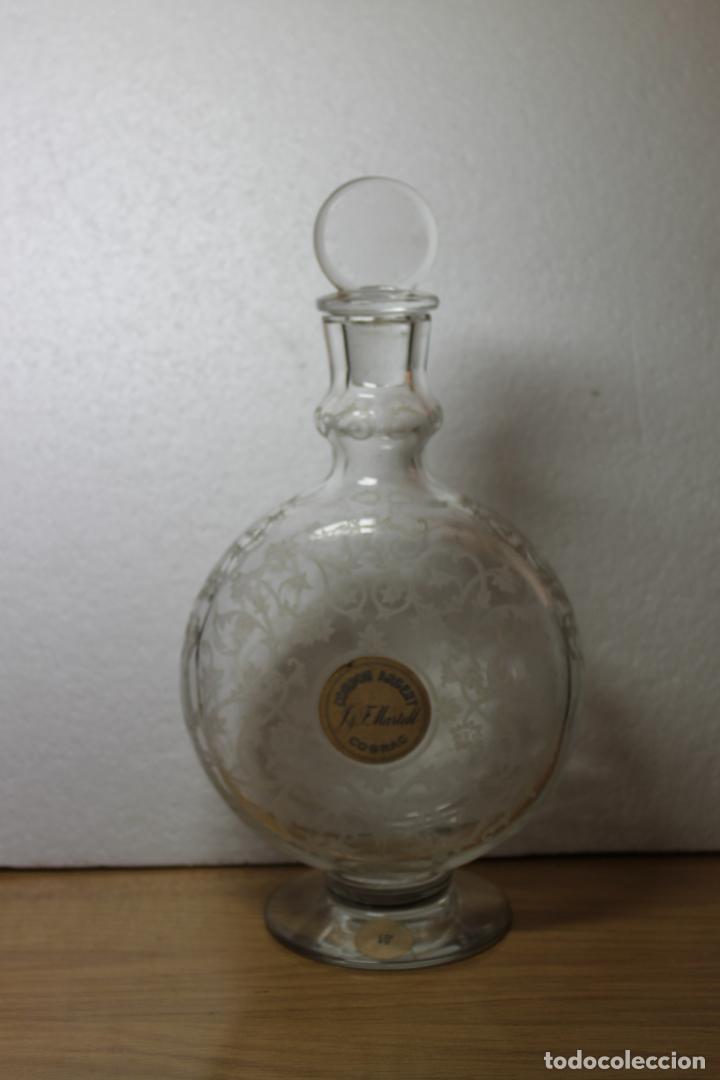 BOTELLA DE COÑAC MARTELL BACCARAT (Antigüedades - Cristal y Vidrio - Baccarat )