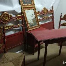 Antigüedades: CONJUNTO DORMITORIO . Lote 140609482