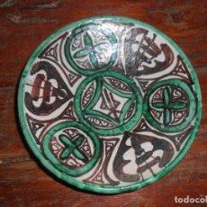 Antigüedades: PLATITO CERÁMICA -DOMINGO PUNTER -TERUEL. Lote 140617086