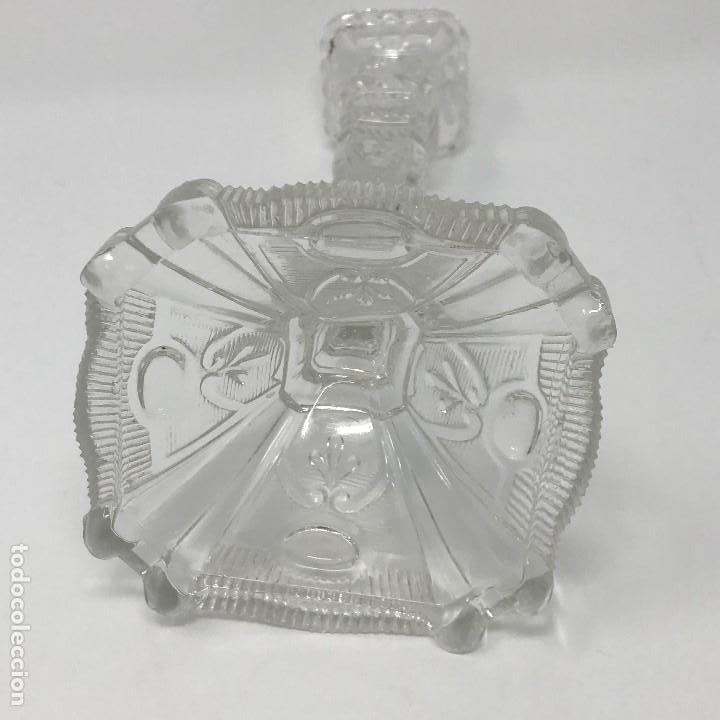 Antigüedades: Candelabro de cristal Huertano Santa Lucía-SXIX - Foto 15 - 140618530