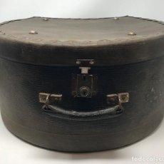 Antigüedades: SOMBRERERA DE VIAJE ANTIGUO. Lote 140623914