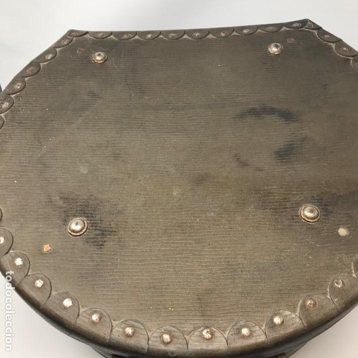 Antigüedades: Sombrerera de viaje antiguo - Foto 12 - 140623914
