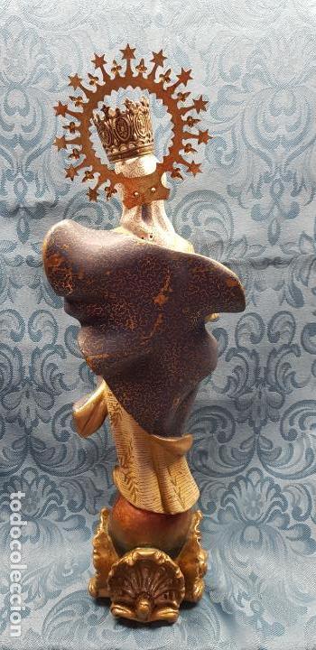 Antigüedades: VIRGEN MARIA REINA - Foto 2 - 140633726