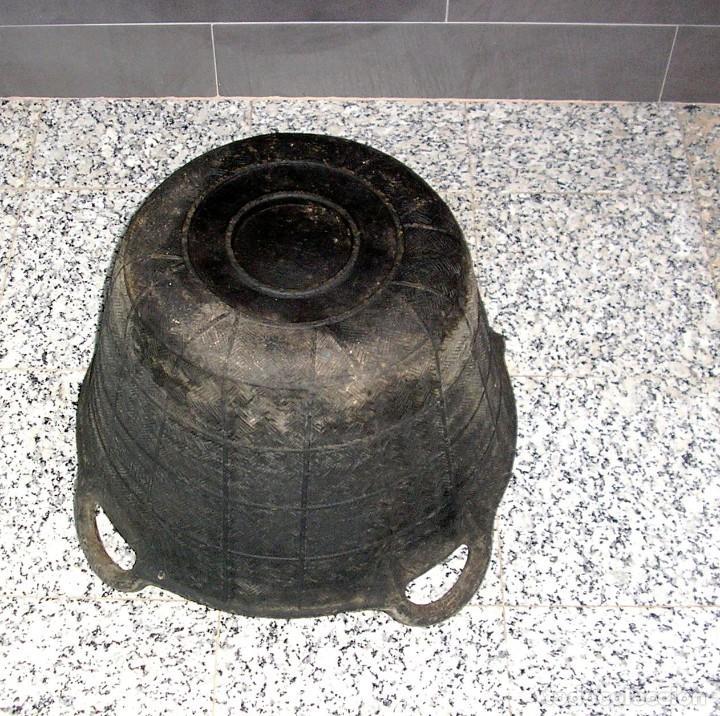 Antigüedades: Antigua espuerta,capazo de goma 4 asas marca Kanguro.Grande. - Foto 3 - 140638282