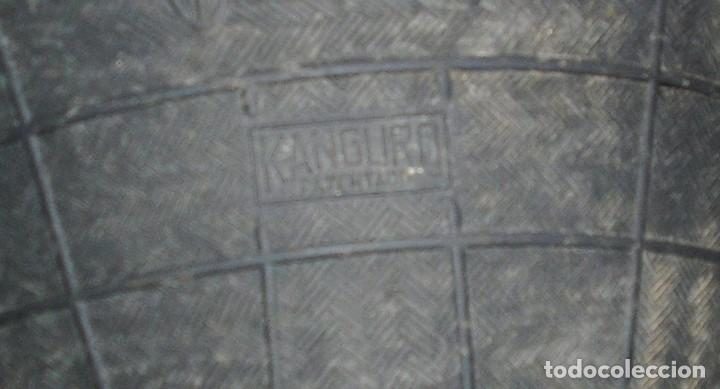 Antigüedades: Antigua espuerta,capazo de goma 4 asas marca Kanguro.Grande. - Foto 4 - 140638282