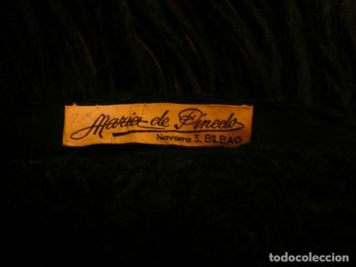 Antigüedades: ANTIGUO SOMBRERO DE SEÑORA AÑOS 40 - 50. MARIA DE PINEDO, BILBAO - Foto 5 - 140645066