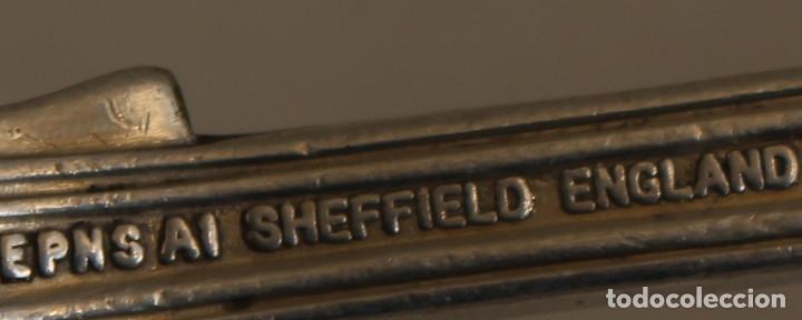 Antigüedades: tenedor con plata de ley punzonada - Foto 8 - 152250405